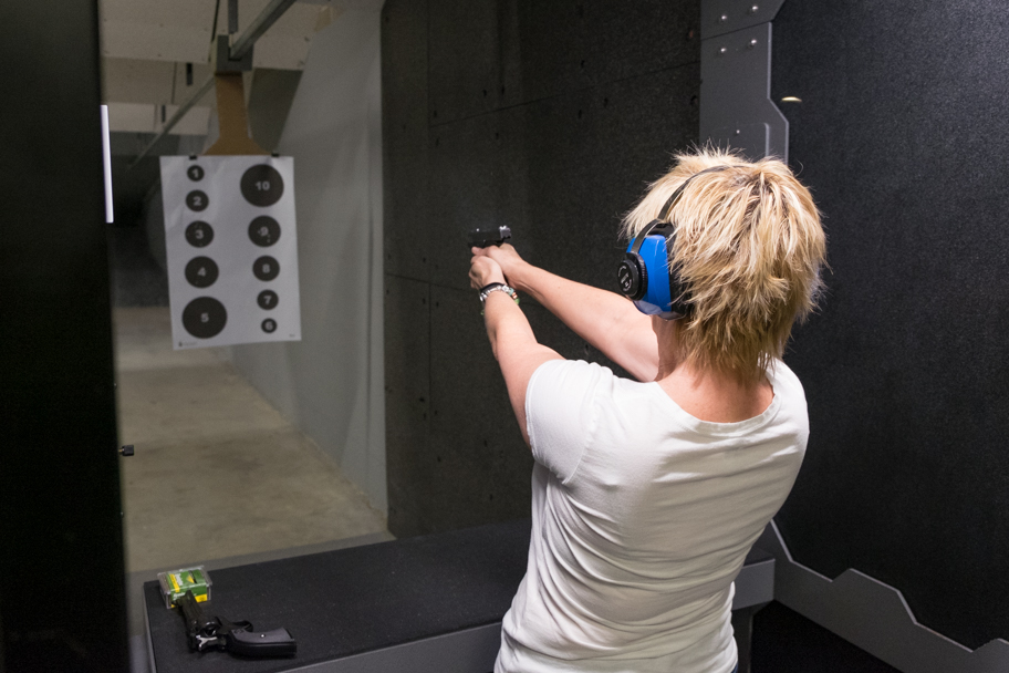 Dallas Shooting Range | © Barbara Cameron Pix