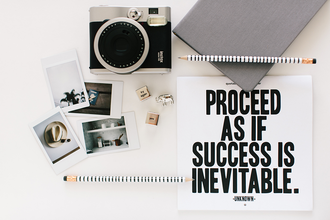 Proceed as if success is inevitable | Barbara Cameron | Food & Travel Photographer
