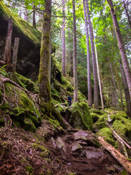 Travel Photos of Hikes in BC | Barbara Cameron Pix | Food & Travel Photographer