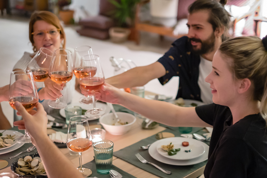 A toast to good food & friends in Lisbon, Portugal | Barbara Cameron | Food & Travel Photographer