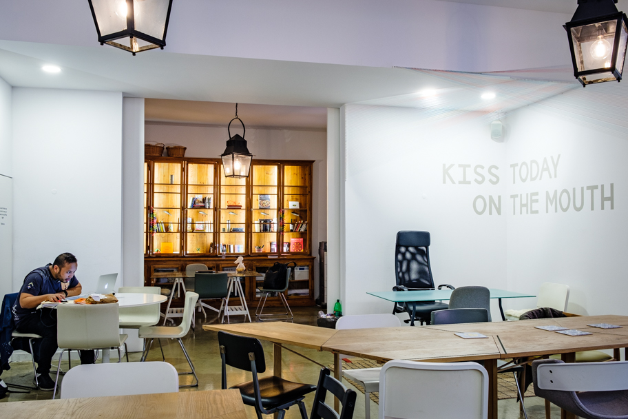 Digital Nomad at WIP Coworking space, Lisbon, Portugal | Barbara Cameron | Food & Travel Photographer