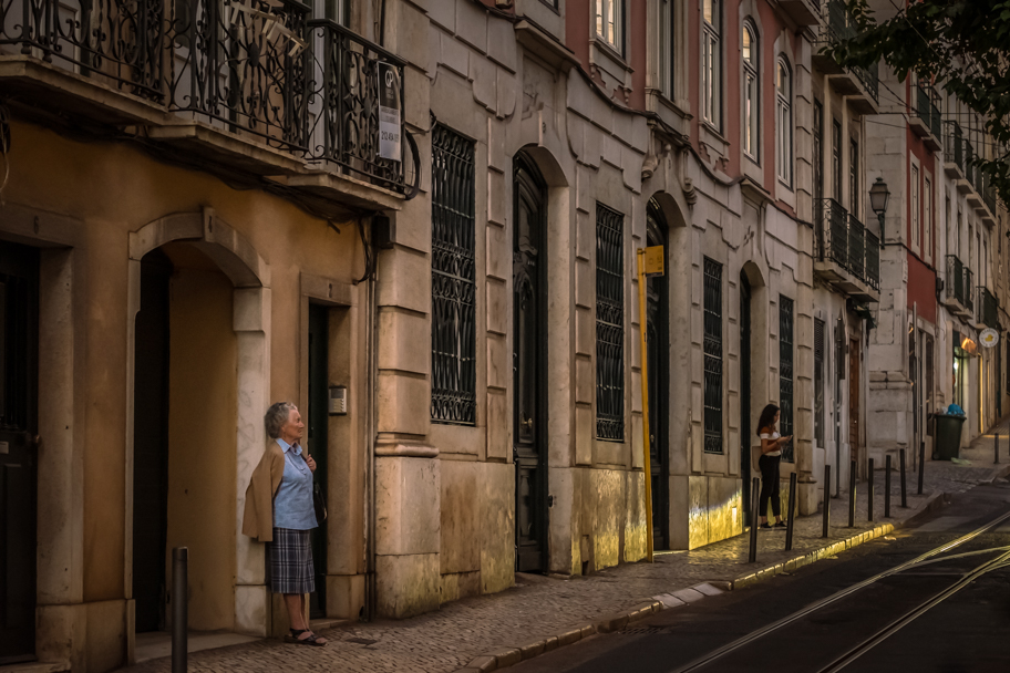A Quiet Street Scene in Lisbon, Portugal | Barbara Cameron | Food & Travel Photographer