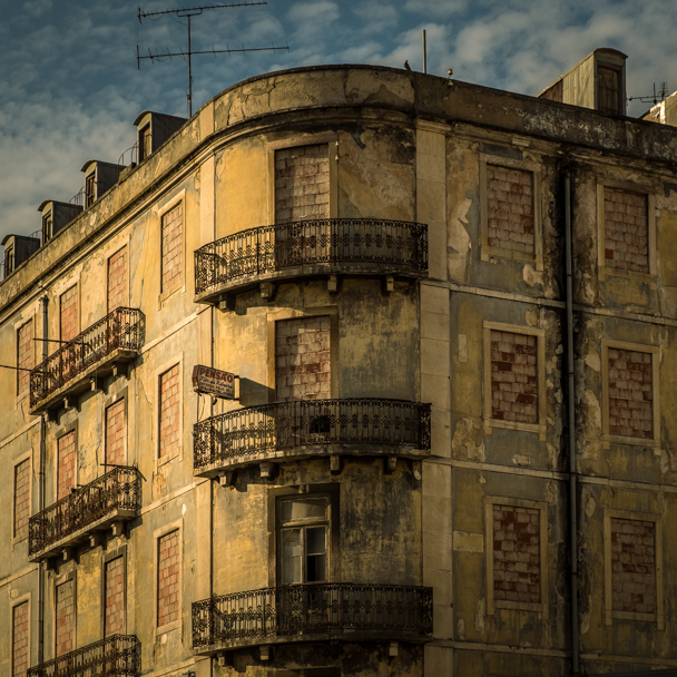 Abandoned Pension in Lisbon, Portugal | Barbara Cameron | Food & Travel Photographer