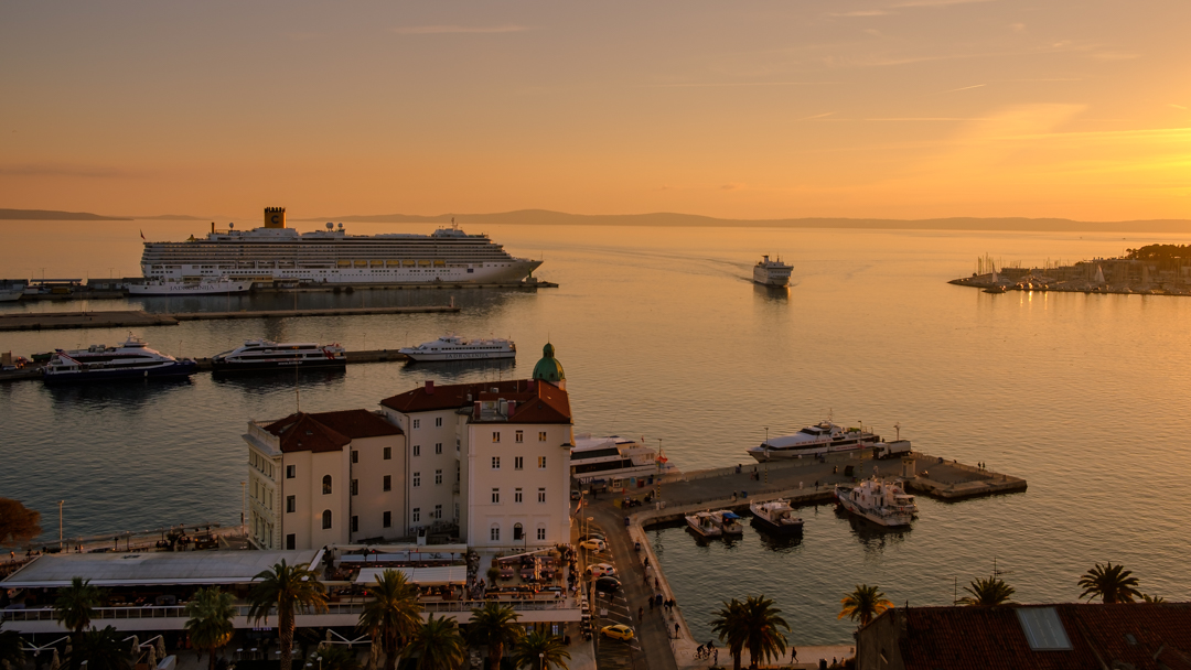 Split Harbour, Croatia | Barbara Cameron | Food & Travel Photographer
