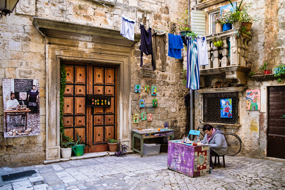 The Fairytale Artist, Trogir, Croatia | Barbara Cameron | Food & Travel Photographer