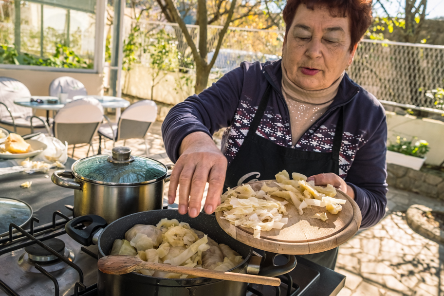 Blitva Dalmatinski, Cook Croatia | Barbara Cameron | Food & Travel Photographer