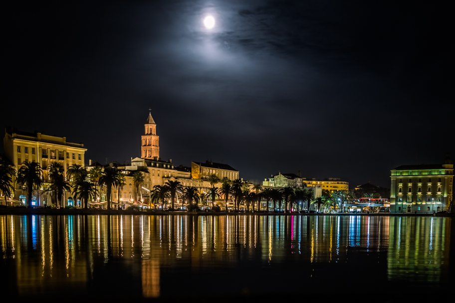 Diocletian's Palace and The Riva, Split, Croatia | Barbara Cameron | Food & Travel Photographer