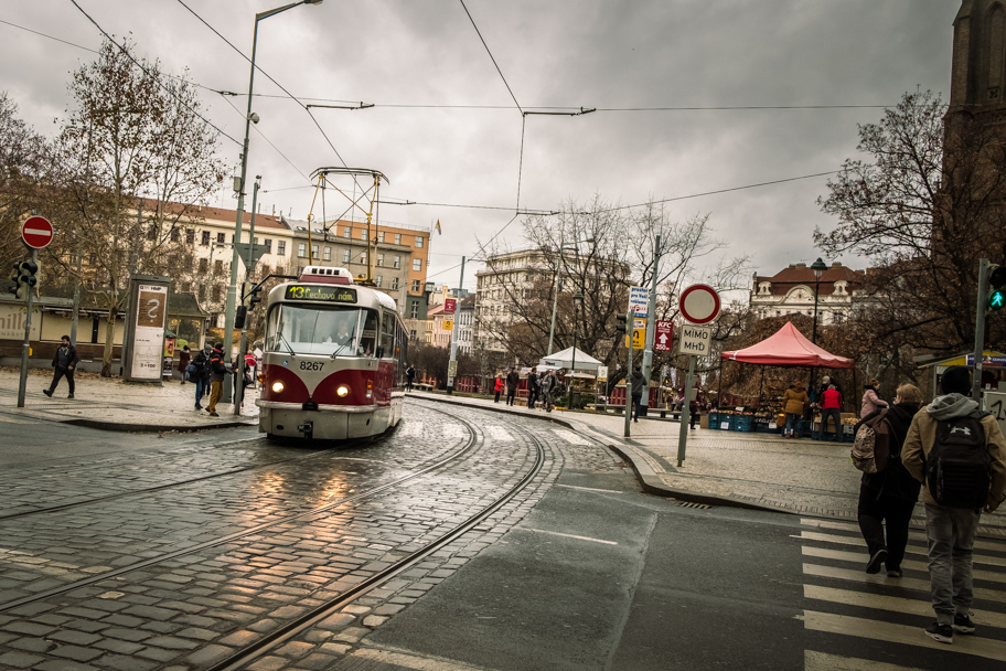 Tram, Prague, Czech Republic | Barbara Cameron | Food & Travel Photographer