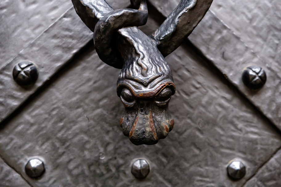 Door detail, St. Vitus Cathedral, Prague, Czech Republic | Barbara Cameron | Food & Travel Photographer