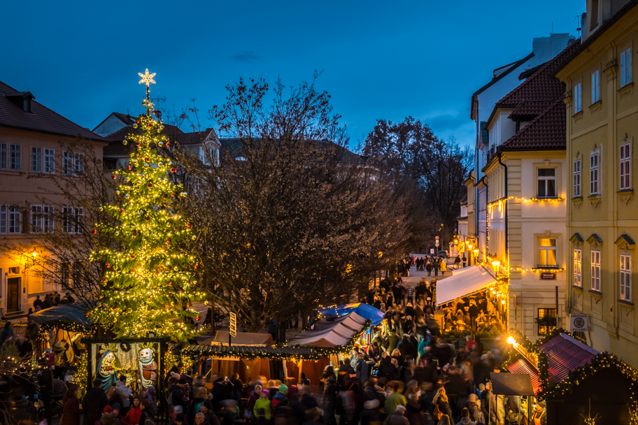 Christmas Market, Prague, Czech Republic | Barbara Cameron | Food & Travel Photographer