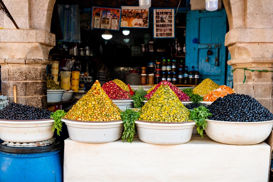 Olives for Sale, Essaouira, Morocco   Barbara Cameron Pix   Food & Travel Photographer