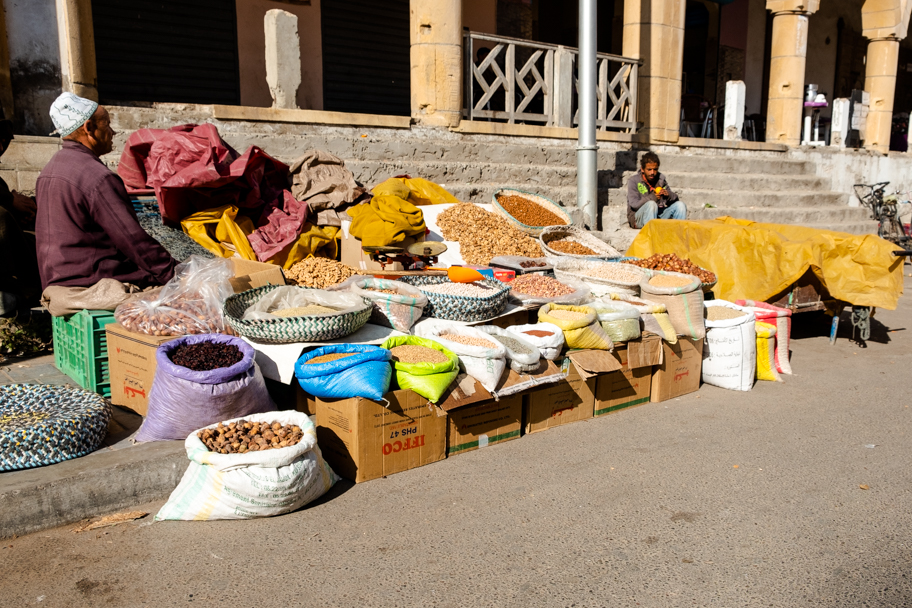Spices for Sale, Essaouira, Morocco | Barbara Cameron Pix | Food & Travel Photographer