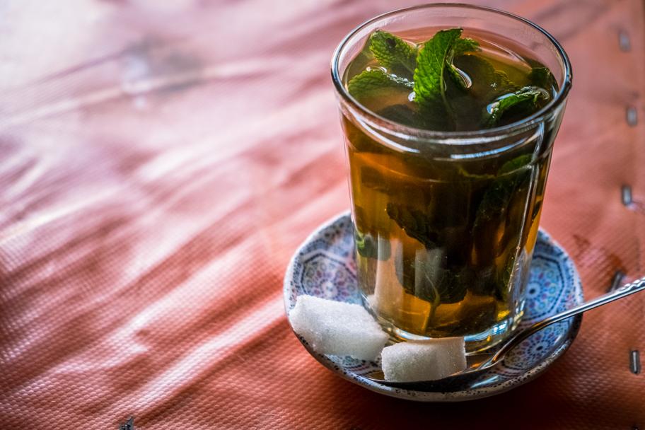 Moroccan Mint Tea, Ourika Valley, Morocco   Barbara Cameron Pix   Food & Travel Photographer