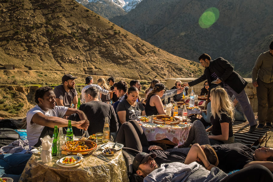 Tagine Lunch in a Berber Village, Atlas Mountains, Morocco | Barbara Cameron Pix | Food & Travel Photographer