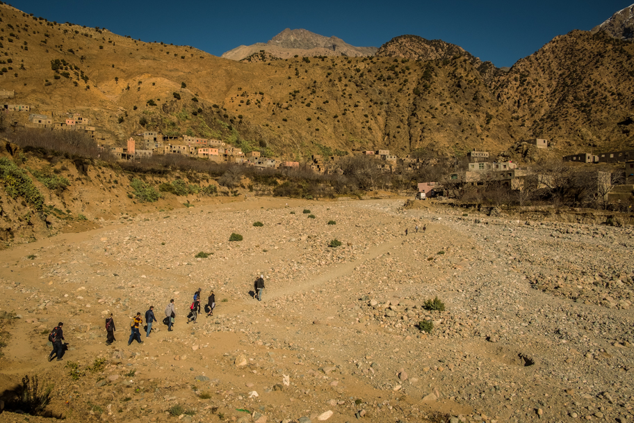 Isolated Berber Village, Atlas Mountains, Morocco   Barbara Cameron Pix   Food & Travel Photographer