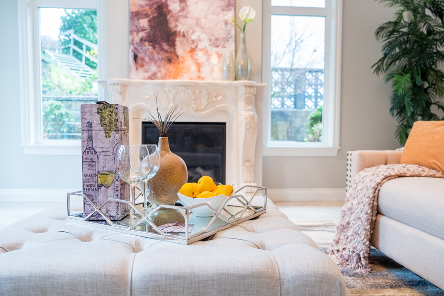 Architectural interiors photographed by Barbara Cameron Pix for Blitz Home Staging