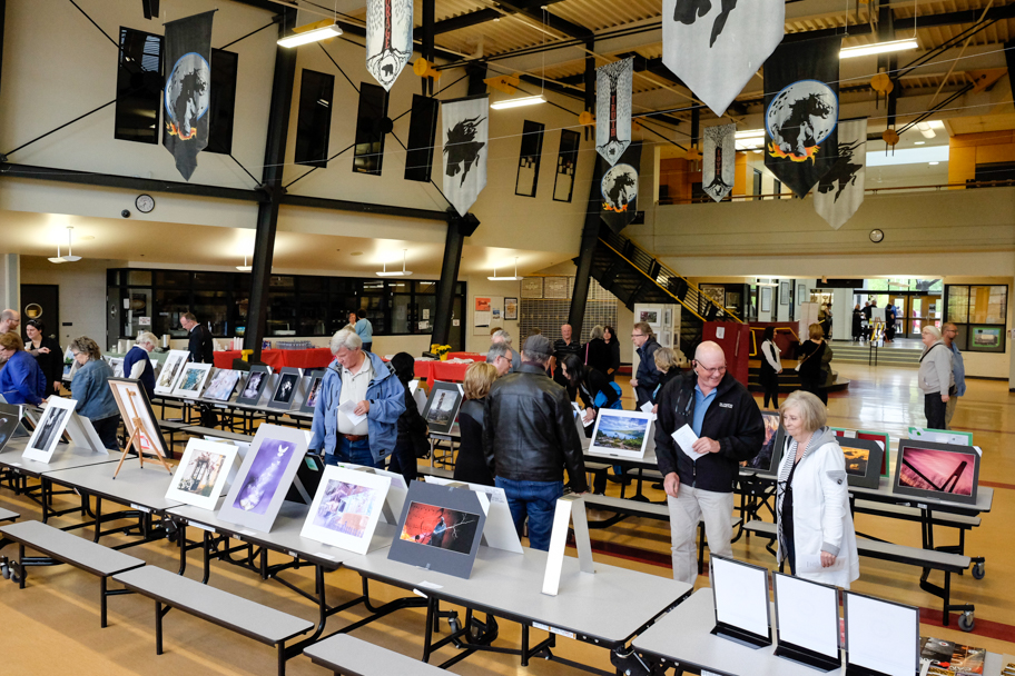 Fraser Valley Invitational, an annual photography exhibition and competition hosted by the Langley Camera Club. Photo by Barbara Cameron Pix