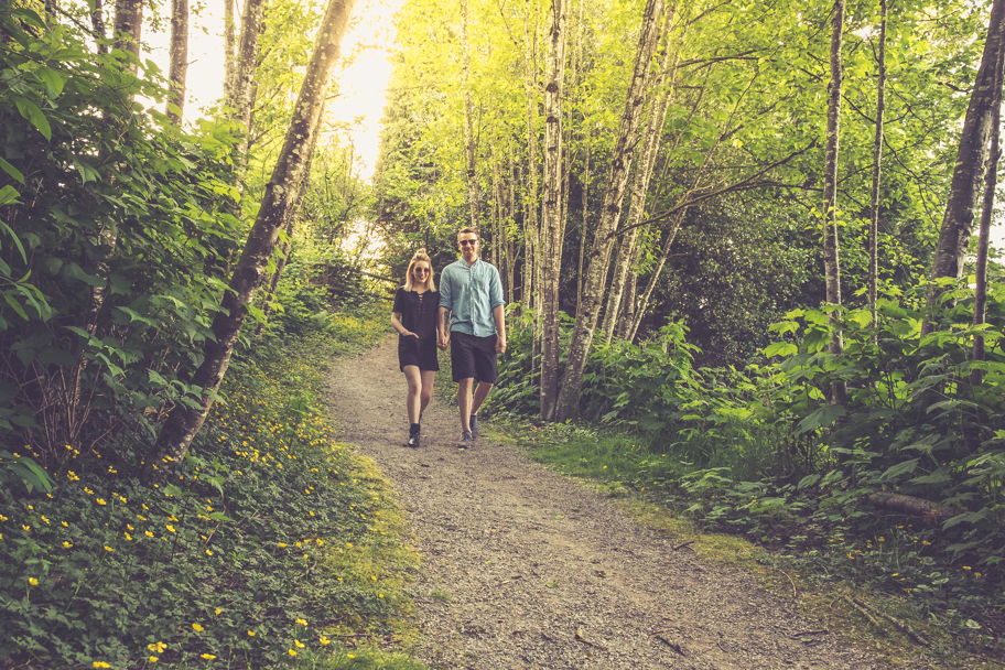 A young couple enjoys living in Abbotsford, BC. Photo by Barbara Cameron Pix, Pro Photographer