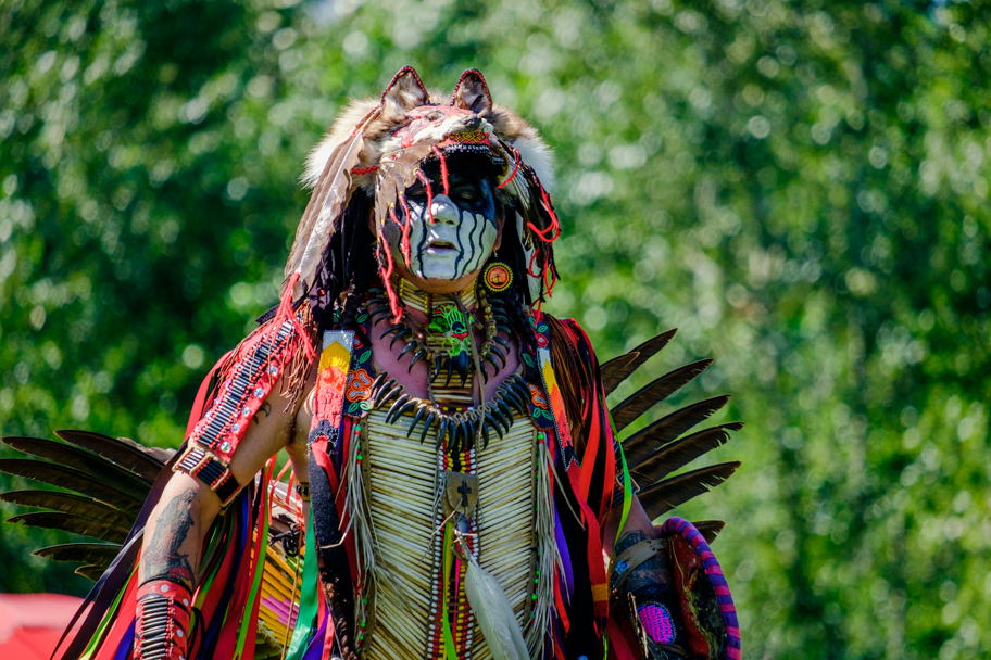 An elder at a Pow Wow in Chilliwack, BC, photo by Barbara Cameron Pix, Pro Photographer