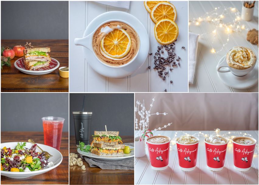 Product & Brand Photography for Caffe Artigiano, photos by Barbara Cameron Pix, Pro Photographer, Art Direction by Danika Sea
