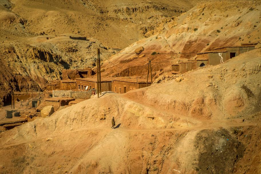 Moroccan earthen clay architecture, Ouarzazate Province| Barbara Cameron Pix | Food & Travel Photographer
