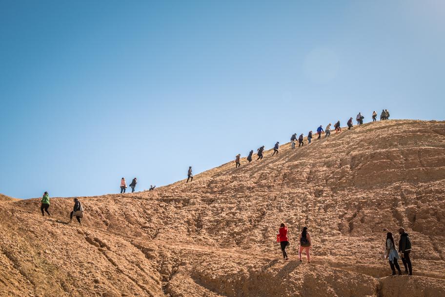Tourists at Ait Ben Haddou, Ouarzazate Province, Morocco| Barbara Cameron Pix | Food & Travel Photographer