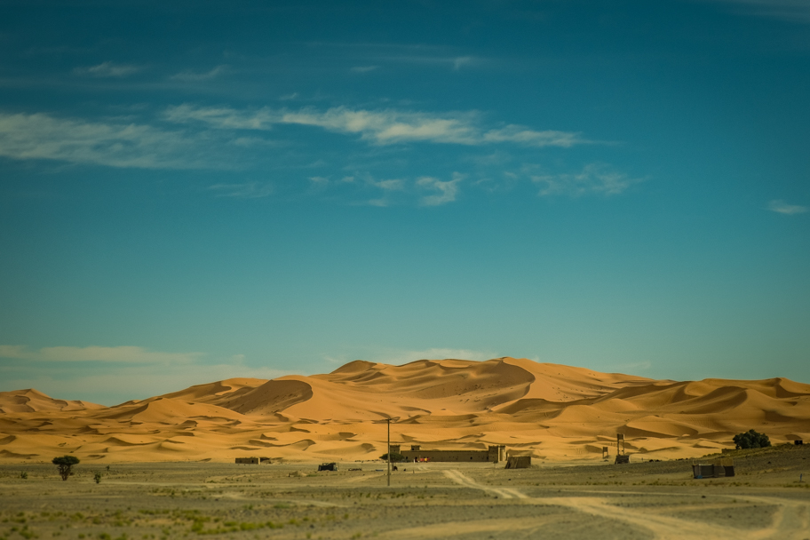 Erg Chebbi sand dunes, Morocco | Barbara Cameron Pix | Food & Travel Photographer