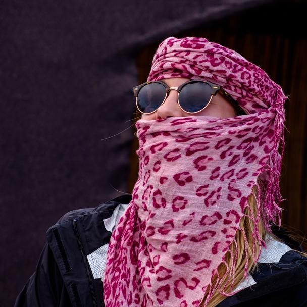 Tourists prepare for a camel trek in Morocco | Barbara Cameron Pix | Food & Travel Photographer