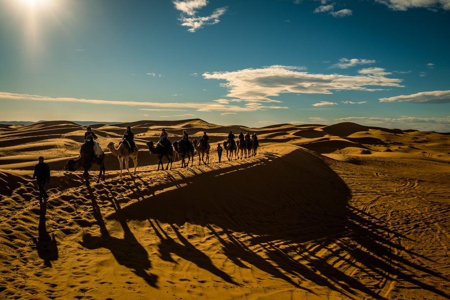 Camel Trek, Sahara Desert, Morocco | Barbara Cameron Pix | Food & Travel Photographer