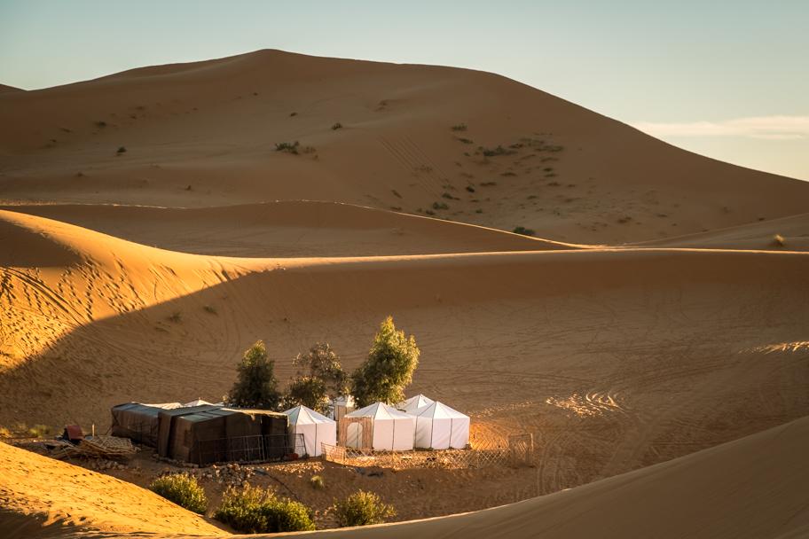 Outdoor tent camp, Sahara Desert, Morocco | Barbara Cameron Pix | Food & Travel Photographer
