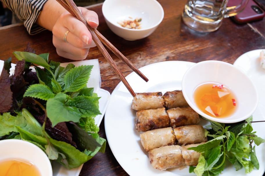 Nem: spring rolls, Hanoi, Vietnam | Barbara Cameron Pix | Food & Travel Photographer
