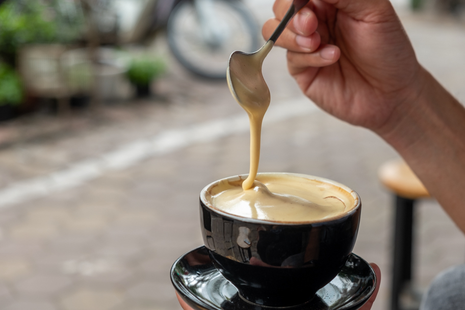 Egg Coffee, Hanoi, Vietnam | Barbara Cameron Pix | Food & Travel Photographer