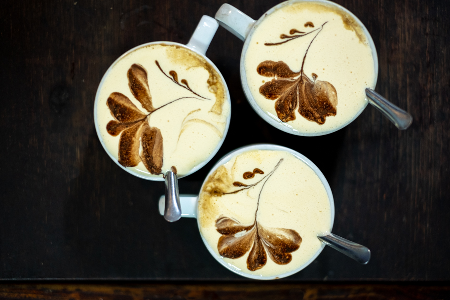 Egg Coffee at Cafe Dinh, Hanoi, Vietnam | Barbara Cameron Pix | Food & Travel Photographer