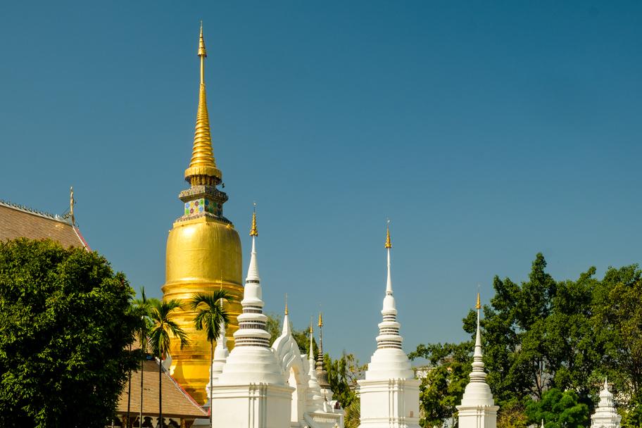 Wat Suan Dok, Chiang Mai, Thailand | Barbara Cameron Pix | Food & Travel Photographer