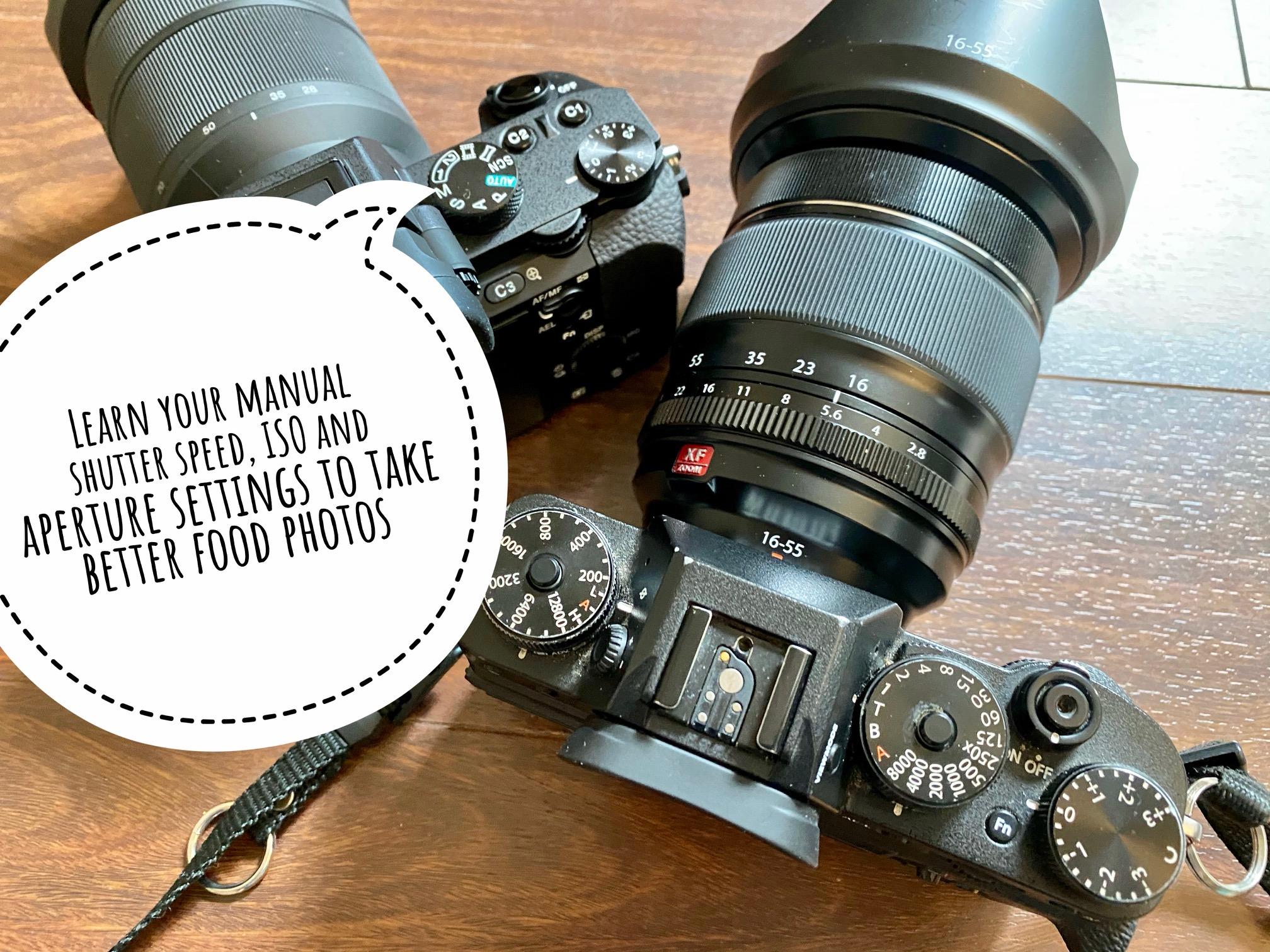 Food photography tip - manual mode| Barbara Cameron Pix | Food Photographer