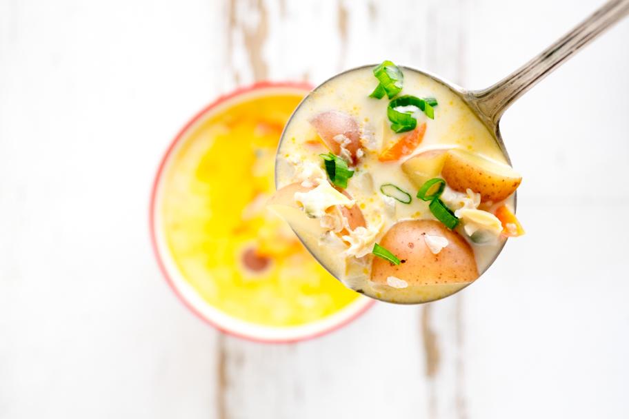Clam Chowder food photo| Barbara Cameron Pix | Food Photographer