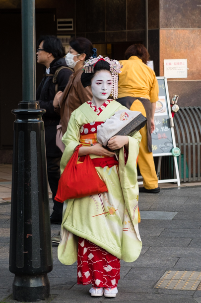 Authentic maiko in Kyoto, Japan | Barbara Cameron Pix | Food & Travel Photographer