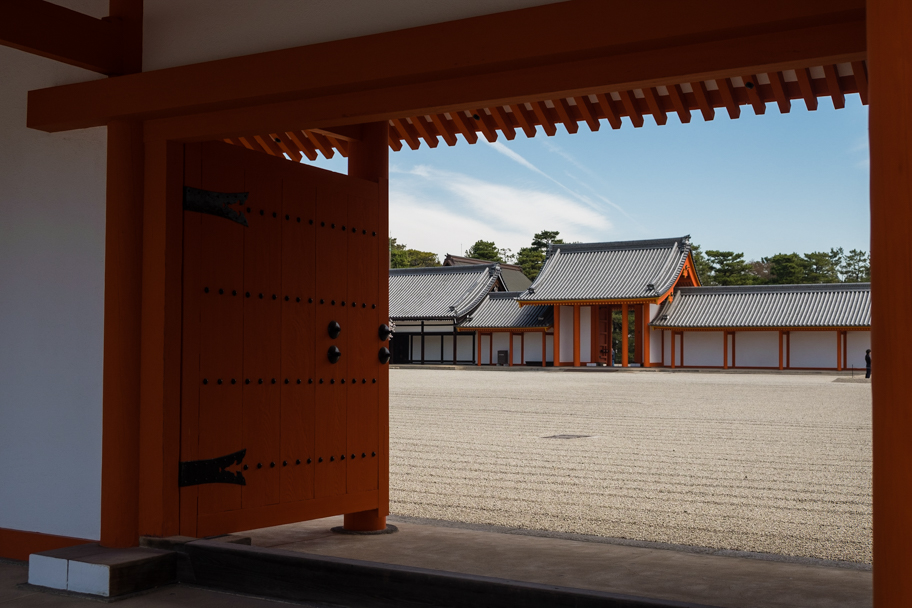 One of the buildings at the Kyoto Imperial Palace, Japan | Barbara Cameron Pix | Food & Travel Photographer