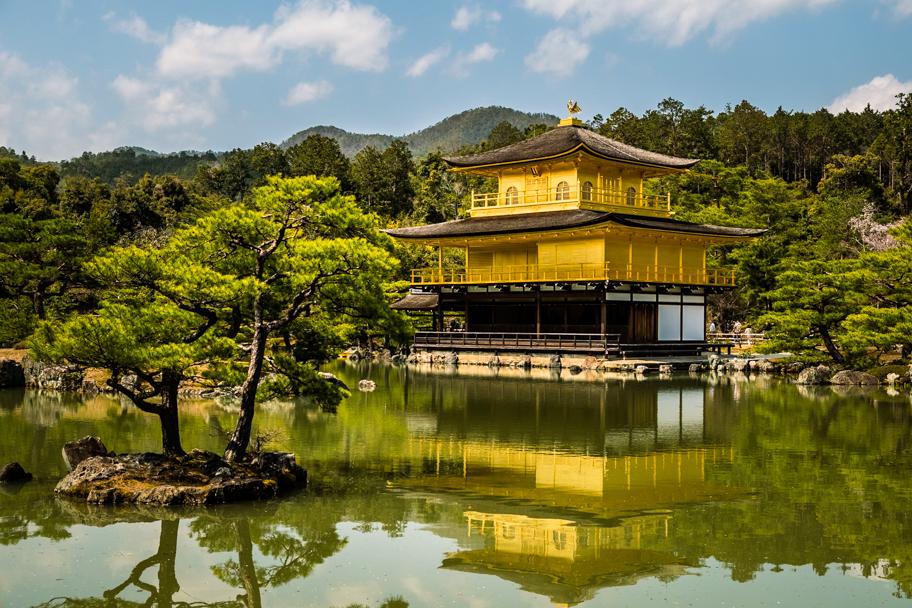 Kinkaku-ji (Golden Pavilion) in Kyoto, Japan  Barbara Cameron Pix   Food & Travel Photographer