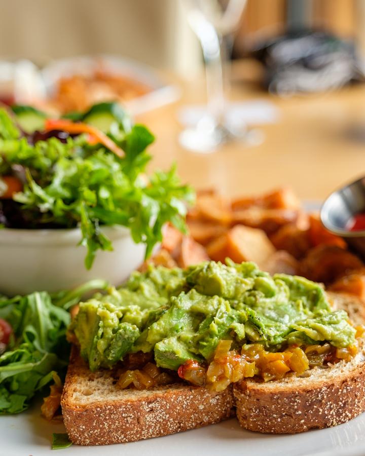 Barbara Cameron   Hospitality Photographer - Avocado toast
